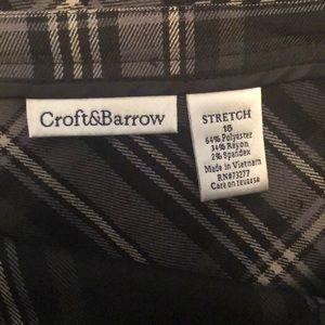 croft & barrow Skirts - !!!NEW!!! Croft & Barrow plaid long skirt